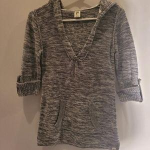 Roxy Womens Sweater Gray Size XS